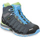 Meindl W's X-SO 70 Mid GTX Shoes Turquoise/Anthracite